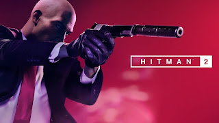 Hitman 2 Game 2018 Logo Wallpaper