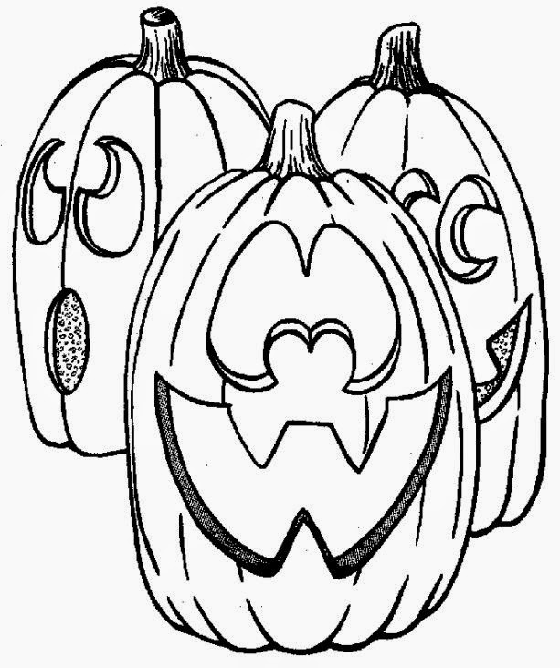 Kids Coloring Pages Halloween  Free Printable Coloring Pages