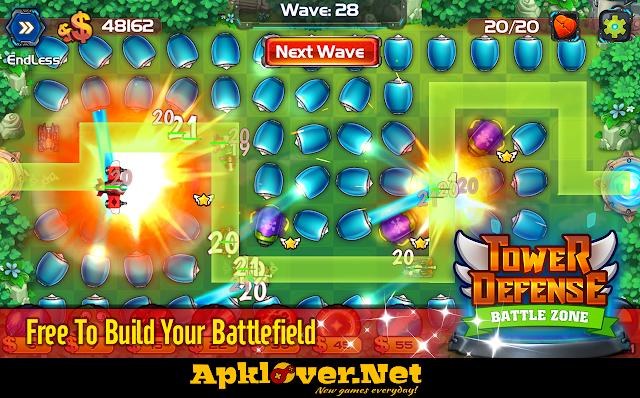 Tower Defense: Battle Zone MOD APK unlimited money