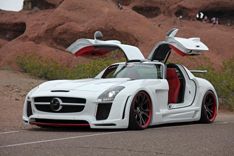 2011 Mercedes Benz Sls Amg Fab Design Benztuning
