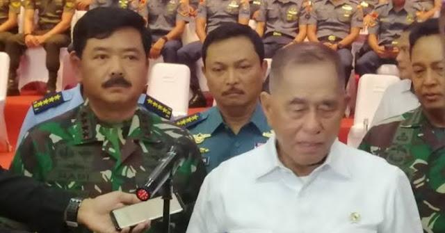 Tiga Persen Prajurit TNI Terpapar Rad1kalisme, Menhan : Tak Perlu Jadi Tentara, Ngotor-ngotorin Aja
