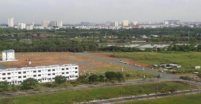 Thị trường đất nền khu vực ngoại Thành đang nóng lên từng ngày