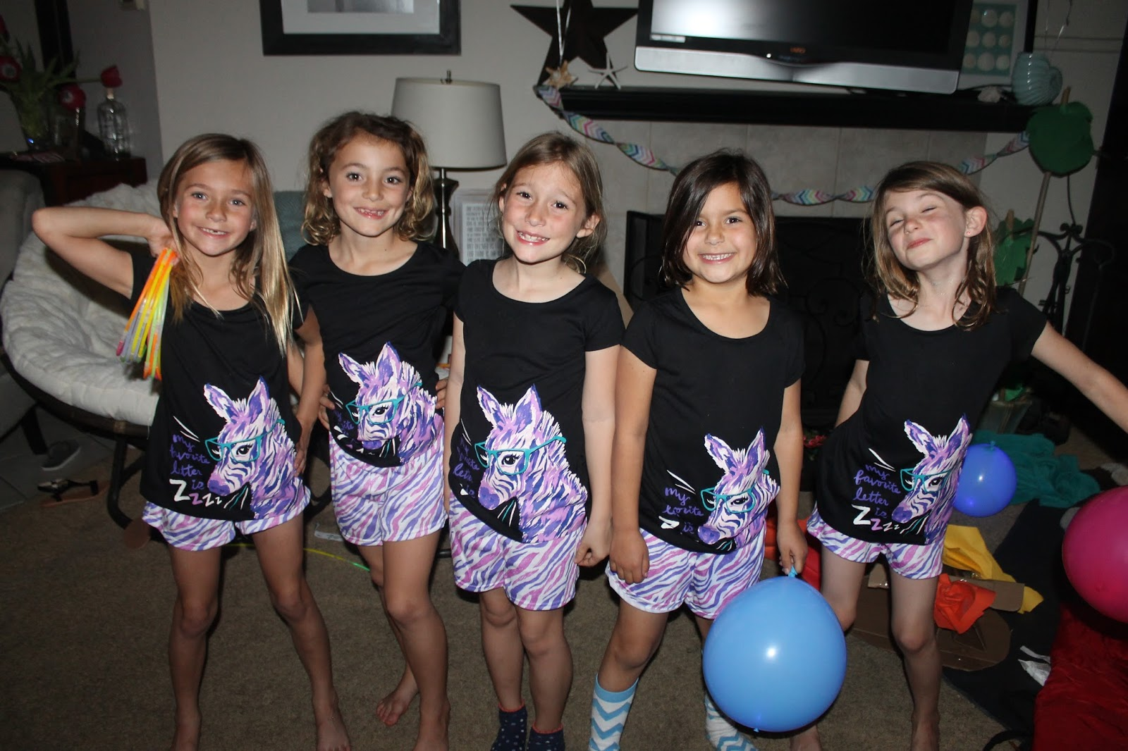 The Campbell Clan Blog: Seventh Grade Sleepover
