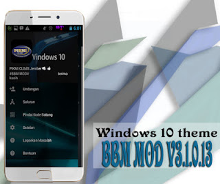 BBM Mod Windows 10 Full Features v3.1.0.13 Apk
