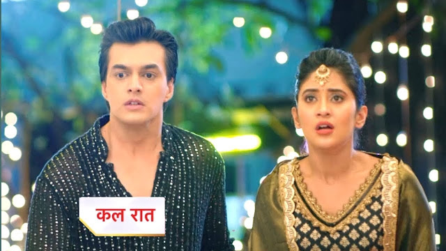 Future Story : Kairav insists Kartik Naira union risks life in fire effigy in Yeh Rishta Kya Kehlata Hai