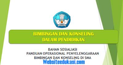 Panduan Operasional Penyelenggaraan BK SMA Tahun 2018