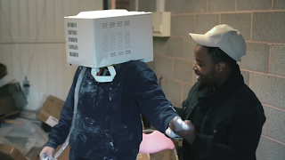 YouTuber almost Lost His Life after Getting His Head Cemented and Stuck in a Microwave