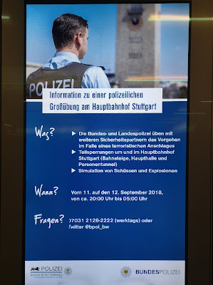 Die Terrorübung am 11. September in Stuttgart