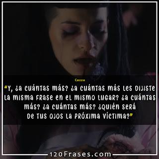 captura del video Mentiste de Cazzu