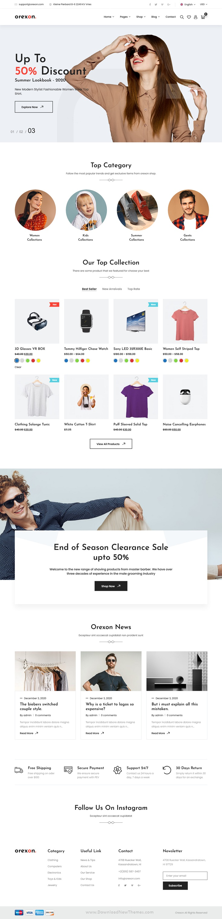 Multipurpose WooCommerce WordPress Theme