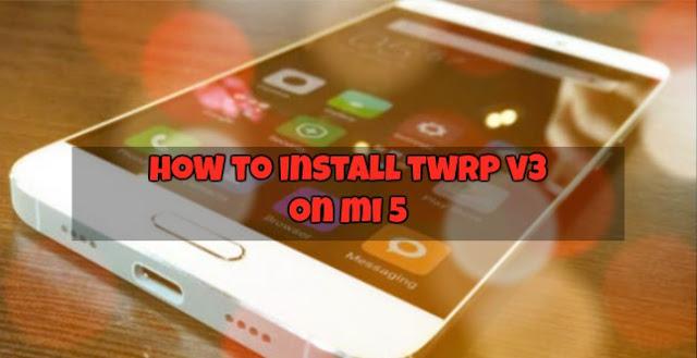 Jangan Pernah Sebut Xiaomi Mi5 Kamu Flagship Xiaomi Jika Belum Terpasang Custom TWRP! Bagaimana Caranya? Ini Tutorialnya