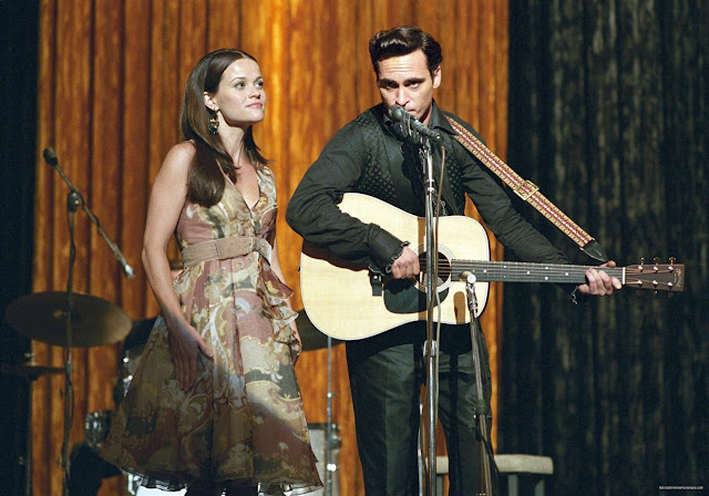 JOHNNY & JUNE com Joaquim Phoenix e Reese Whiterspoon: eu vi