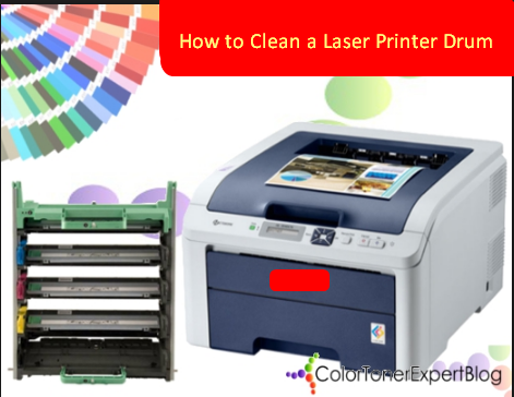 How to Clean a Laser Printer Drum