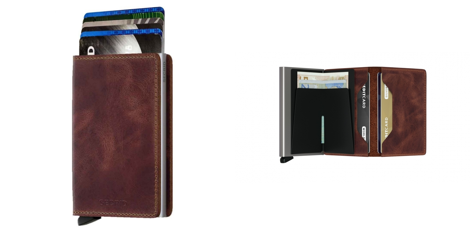Portfele i etui na karty kredytowe