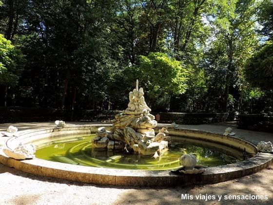 Fuente del Cisne, Jardín del Principe, Aranjuez, Madrid