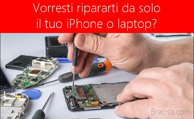 Come ripararsi da soli il proprio iPhone o laptop in garanzia