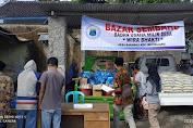Selain Cairkan BLT Tahap II, Barabali Juga Gelar Bazar Sembako
