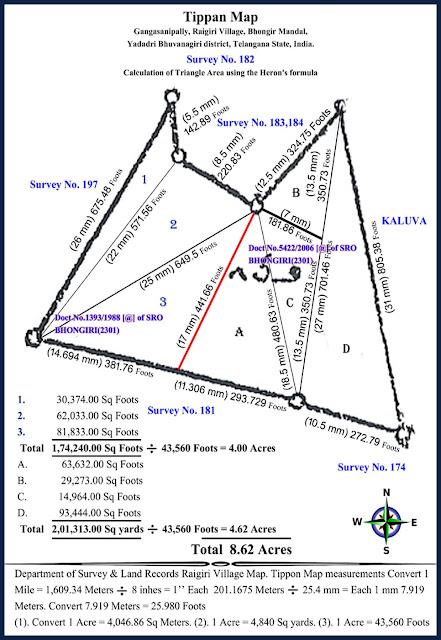 Gangasanipally Rayagiri Village-Tippon Survey No.182