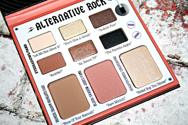 theBalm Alternative Rock Face Palette Volume 2