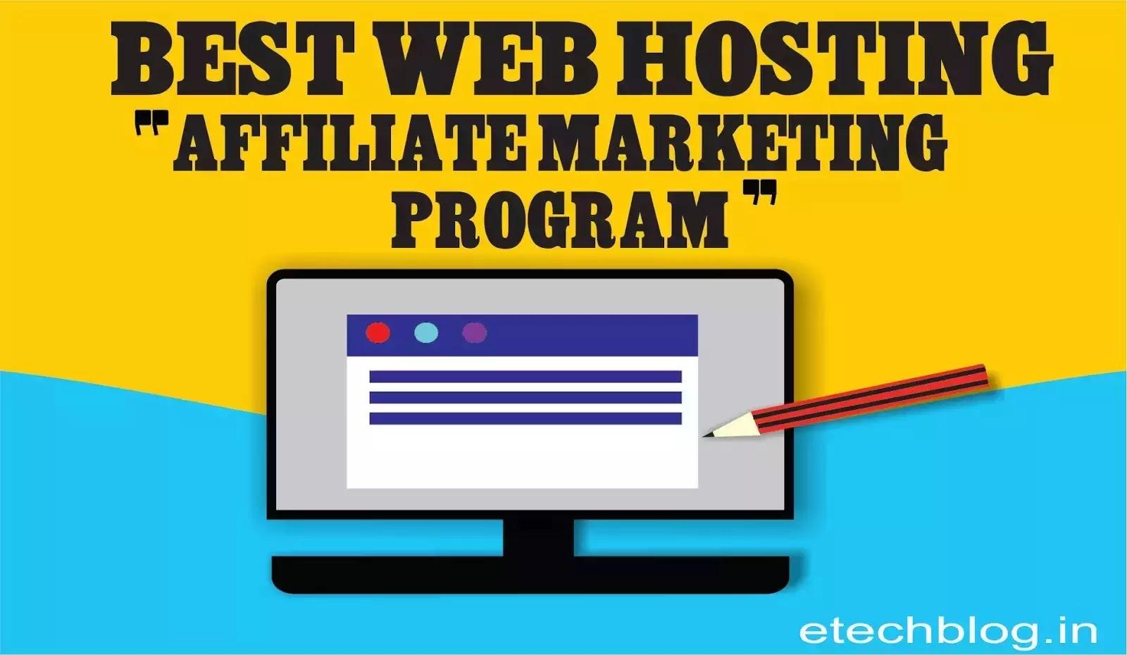 Web Hosting Affiliate Program.
