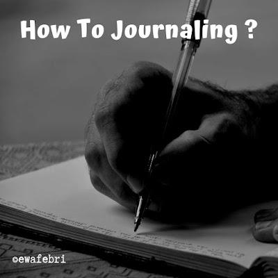cara membuat journal