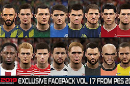 Exclusive Facepack Vol. 17 - PES 2019