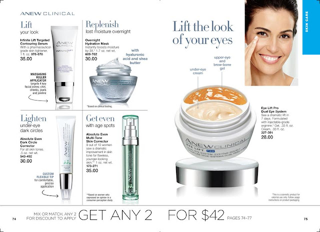 Shop Now Avon Anew Skincare Sale