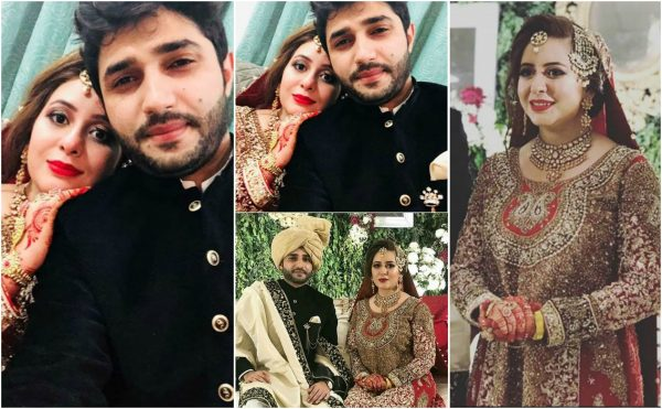 Geo News Anchor Rabia Anum's Wedding Pictures