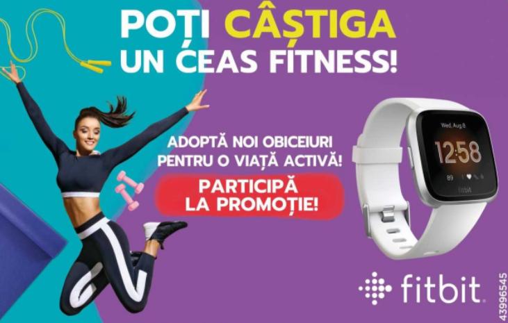 Concurs nestle-cereals - Castiga un ceas fitness FITBIT VERSA LITE - castiga.net