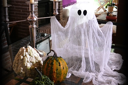 Como hacer Fantasmas para Halloween Terrorificos