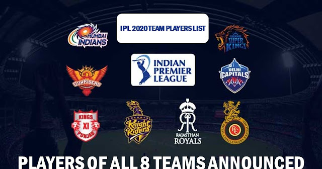 ipl 2020 players list