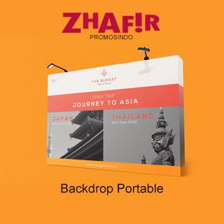Cetak Backdrop Portable