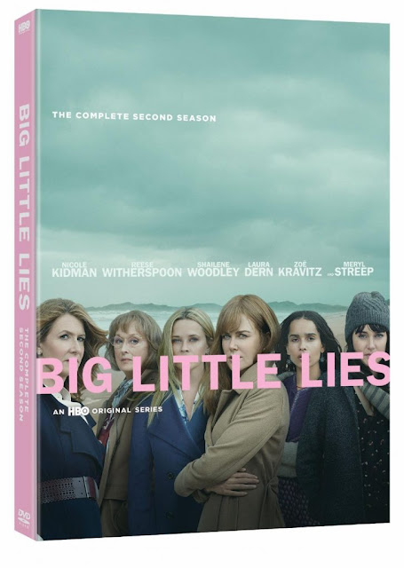 Big Little Lies: The Complete Second Season NOW on Blu-ray #BigLittleLies