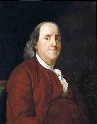 Ben Franklin was a Deist but supported Christian values