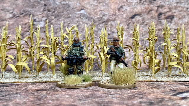JJT Scenery Products 28mm Corn/Maize Crops for Western Africa, Mali and the Sahel