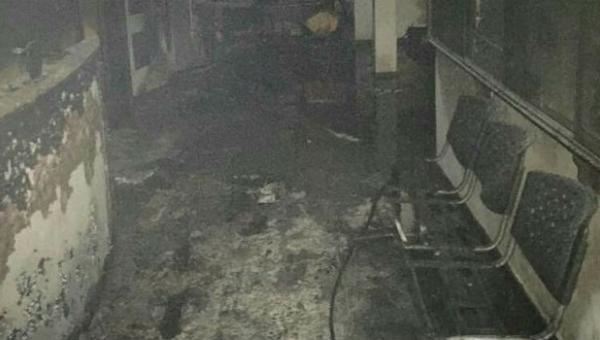 Narco Colectivos Paramilitares Maduristas incendiaron sede de la Asociación de Ganaderos del Táchira