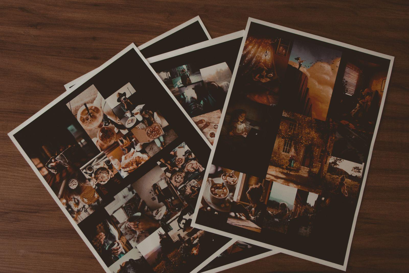 atualizações do bujo + the rocker prints