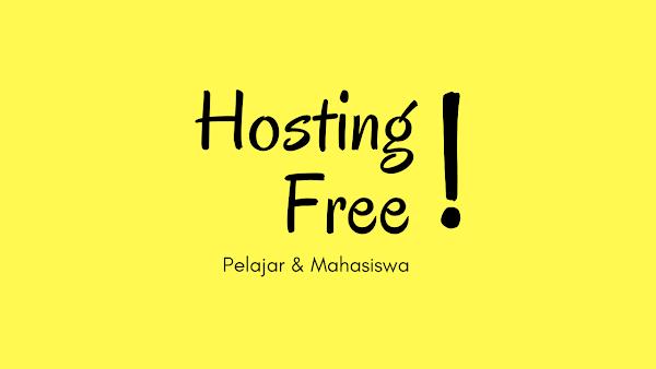 Gratis Hosting Unlimited Untuk Pelajar dan Mahasiswa
