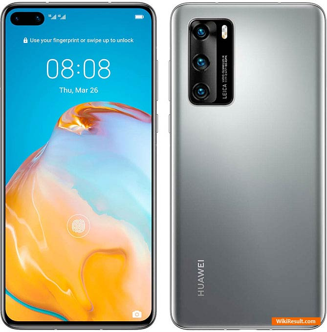 Huawei P40 Price in India