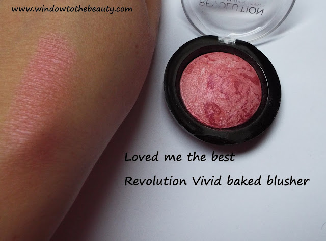 Vivid Baked Blusher loved me the best swatch