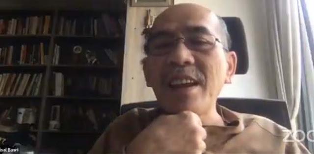 Faisal Basri: KAMI Hadir Karena Parpol Gagal Dan Punya Dunianya Sendiri
