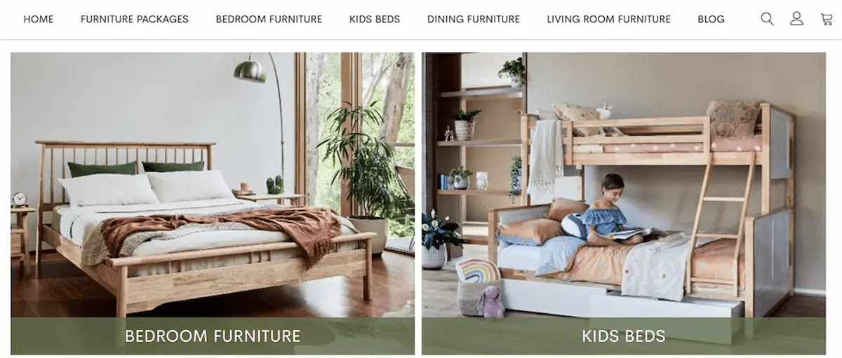 a photo of bed room furniture which sells at b2cfurniture