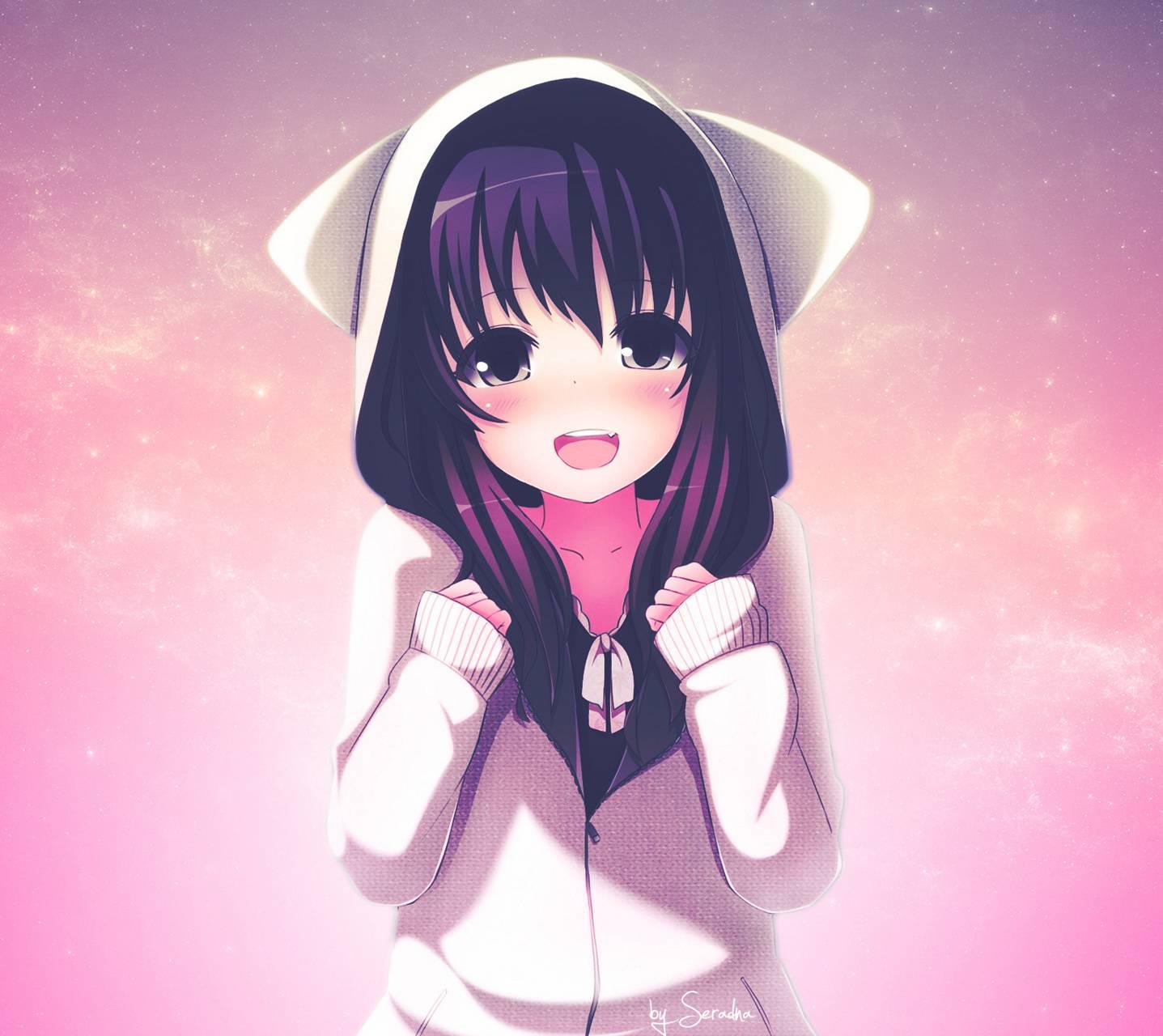 Hình Nền Anime Girl Dễ Thương Full HD