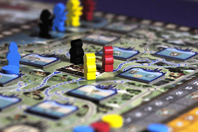 Pilgrims and Turn Order for Coimbra boardgame