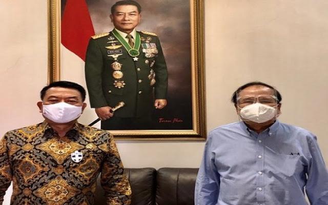 Rizal Ramli Bertemu Moeldoko, Netizen: Sudah Berdamai dengan Pemerintah?