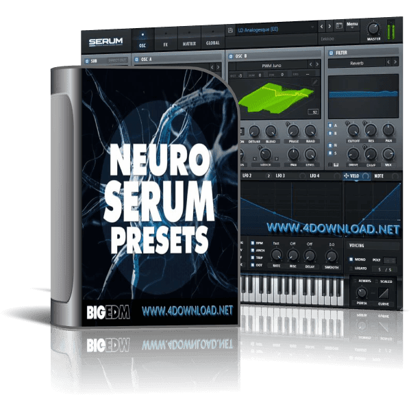 W. A. Production - Big EDM - Neuro Serum Presets