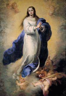 Murillo - Inmaculada Concepción del Escorial (Museo del Prado) 1656/60