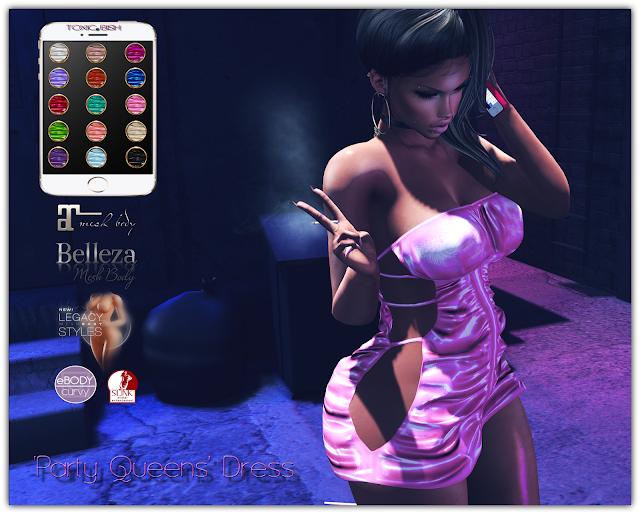 'Party Queens' Dress @ HUD (15 color)
