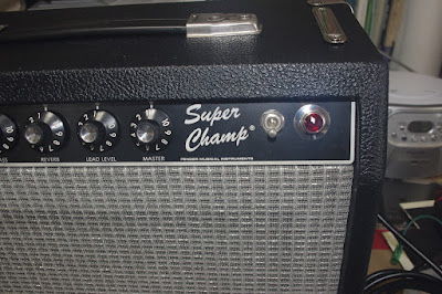 Super Champ control panel right side