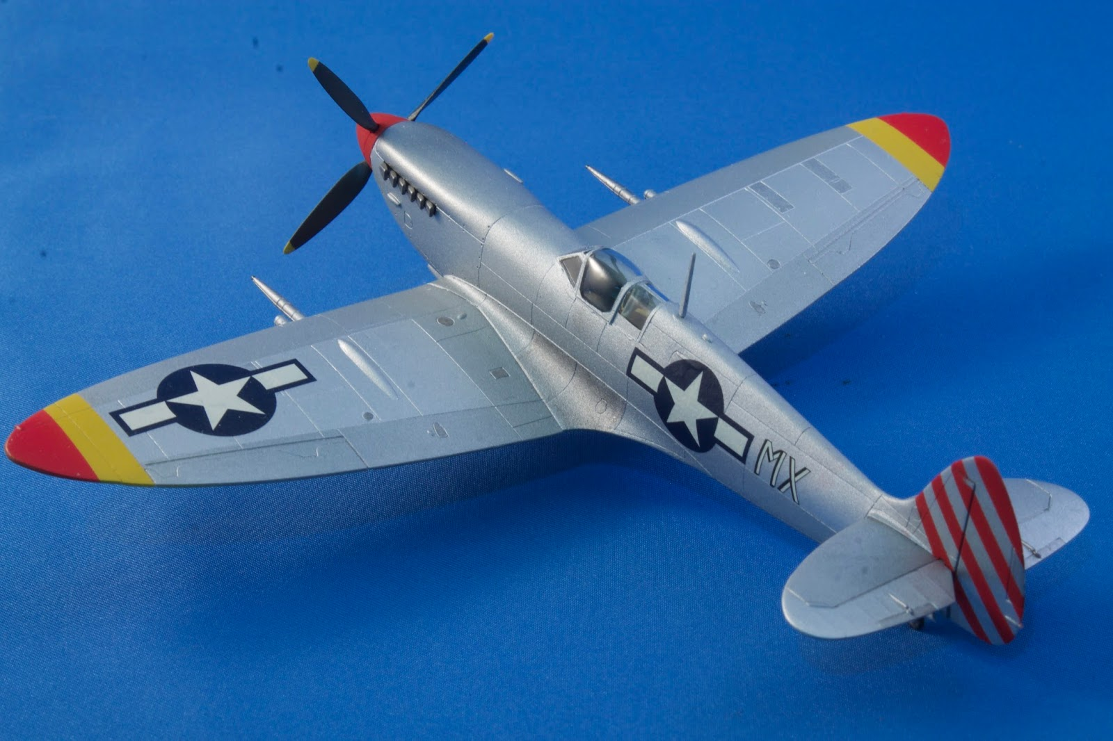 The Story Of My Aircraft And Ship Modeling Nmf Spitfire